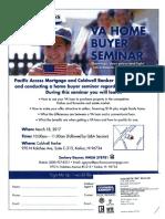 VA Homebuyer Seminar