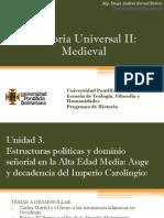 Unidad 3 Estructuras políticas y dominio señorial en la Alta Edad Media