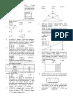 Matemática - Apostila Álgebra - Aula 02 - Exercícios Funções L2