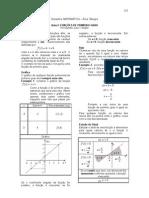 Matemática - Apostila Álgebra - Aula 03 - Funções de Primeiro Grau