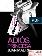 Adios, Princesa - Juan Madrid