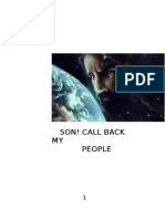 Son Call Back My People
