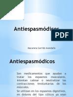 Antiespasmódicos