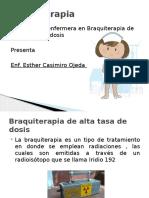Braquiterapia 2016