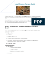 AP Environmental Science Guide