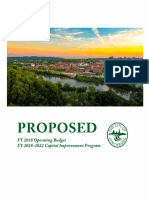 PROPOSED FY 2018 Operating and CIP Budget With Bookmarks