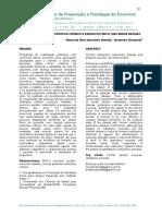 DOENÇA PULMONAR OBSTRUTIVA CRÔNICA E EXERCICÍO FÍSICO- UMA BREVE REVISÃO