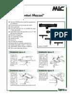 Inyector Venturi Mazzei