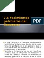 7.5 Yacimientos Del Cenozoico