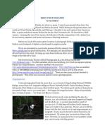 Ron Addison - Photographing Birds