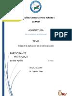 Tarea II de Administracion de Empresa I-darielis Morales