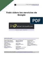Manual Todo Sobre Servicios Google Desarrolloweb.com