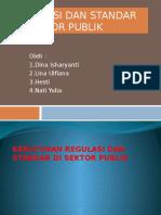 PPT Regulasi Dan Standar Sektor Publik