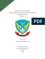 Halaman Judul Proposal Baksos