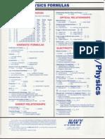 Math and Physics Formulas