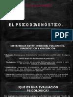 El Psicodiagnóstico