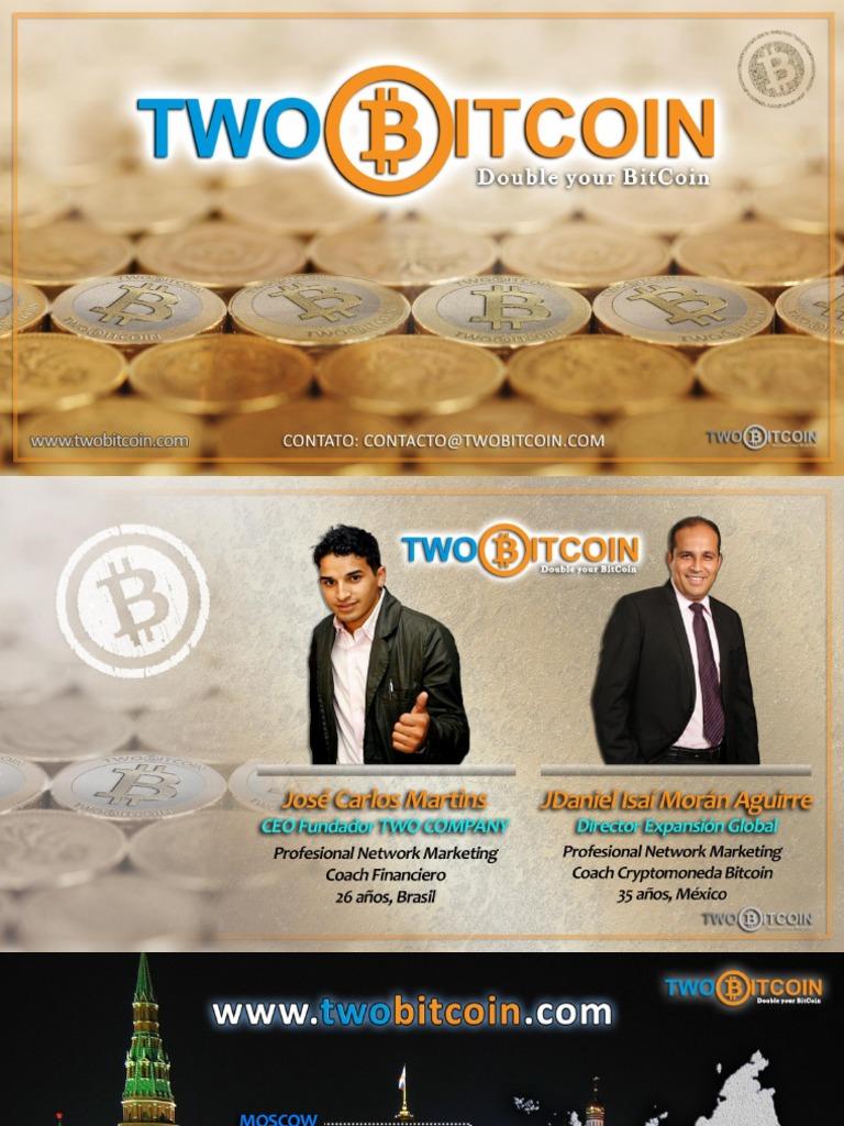 two bitcoin iniciar sesion