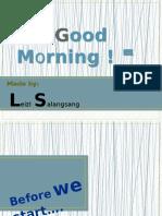 Article Multimedia presentation of Leizl Salangsang