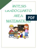 Sintesis Matematicas 4 2017 PDF