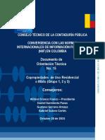 Consejo Tecnico de La Contaduria Publica en Colombia