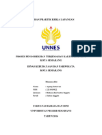 Laporan PKL Disbudpar Kota Semarang 2016
