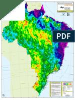 Mapa Densidade Descargas Atmosfericas_1998-2009