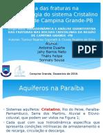 Aquíferos Critalinos - PB - Reduzido