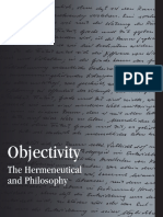 (Suny Series in Contemporary Continental Philosophy) Gunter Figal & Theodore D. George-Objectivity_ the Hermeneutical and Philosophy-State University of New York Press (2010)