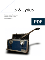 Worship Team Resource - Songs and Lyrics Version 1.0
