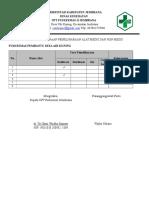 2.1.5 Ep 2 Bukti Pelaksanaan Pemeliharaan Alat Medis Dan Non Medis Pustu- Copy