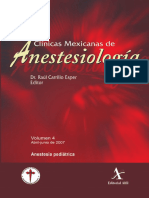 Anestesia Pediatrica CMA