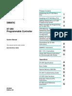Manual Simatic s7-200