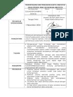 33. SPO Pemantauan Dan Pengisian Kartu Anestesi Pada Px Yg Dilakukan ANestesi EDIT