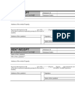 Rent Receipt - Copy