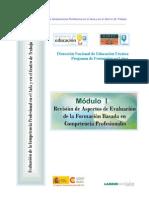REVISION DE ASPECTOS DE EVALUACION DE LA FORMACION BASADA EN COMPETENCIAS