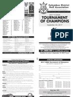 2017 CDGA Tournament of Champs AP