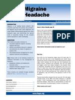 Migraine Headache November 2014