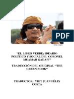 Libroverde m. Kadhafi