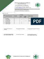 2.1.4 Ep 3 Bukti Pelaksanaan Monitoring Prasarana Setiap Ruangan 2016