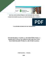 ENGENHARIA CLÍNICA -  Monografia - Materniudade - Valdemir Medeiros.pdf