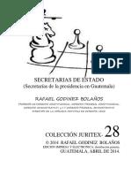 Secretarias Del Estado