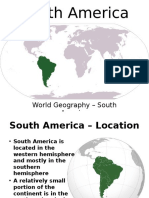 Southamerica Geography Powerpoint
