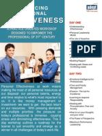 Enhancing Personal Effectiveness