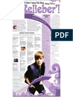 All About Justin Bieber, Including a Quiz