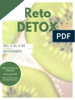 Reto Detox 02 - 04 Nov_16