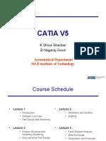 CATIA V5 Lectures