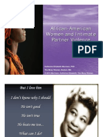 Publish Online - IPV and AA Women