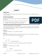 Rearranging Formulas 2