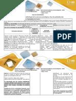 Guía de Actividades y Rúbrica de Evaluación – Paso 2 – Profindización