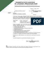 1. Undangan Klarifikasi Drainase (Gunung Merapi)